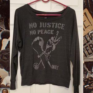 Obey No Justice No Peace, BLM Sweatshirt
